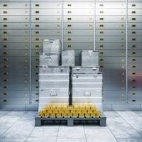Edelmetalle zum Schutz für jedes Depot