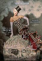9. Vaudeville Variety Burlesque Revue