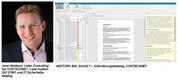 CONTECHNET: neue Softwareversion INDITOR® BSI vereinfacht die Einführung eines ISMS