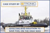 Anwenderbericht: Effektive RFID-Lösung zur Kraftstoffeinsparung auf hoher See
