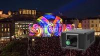 Panasonic erreicht neue Spitzenwerte mit 50.000 Lumen 4k-Projektor