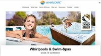 Neue Whirlcare-Webseite: modern, informativ, strukturiert