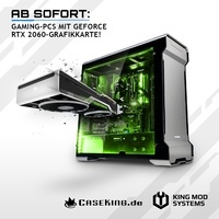 JETZT bei Caseking - Gaming-PCs mit NVIDIA GeForce RTX 2060-Grafikkarten.