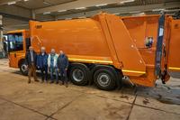 TBZ: Sammelfahrzeug für Bioabfall mit vorbildlicher Sicherheitsausstattung übernommen