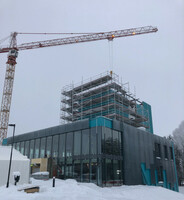 Indoor Skydiving Germany Group started installation of fans and flight chamber at the Modern Activity Center in Oslo
