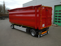 Robuster Anhänger für den schweren Einsatz im Rohstofftransport