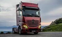 Daimler präsentiert neue Mercedes Actros auf bauma 2019