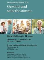 Verbraucher 60+: Gesund und selbstbestimmt in Gronau