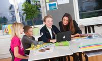 healthbank beteiligt sich am 4Generations-Projekt der Elementa Tagesschule Neuheim