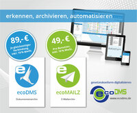 Quick, Easy and Low-Cost Digitalisation and Electronic Archiving