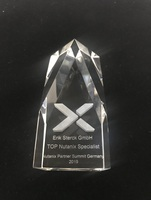"Nutanix recognises Erik Sterck GmbH as ""TOP Specialist"""