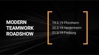 abtis informiert auf Modern Teamwork Roadshow über neue Formen der Zusammenarbeit im Mittelstand