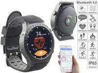 newgen medicals GPS-Handy-Uhr & Smartwatch PW-500.gps