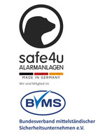 safe4u als neues Mitglied im BVMS