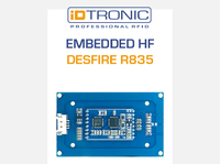 iDTRONICs Embedded Modul: DESFire R835 | Read & Write Funktion für MIFARE® & DESFire Transponder