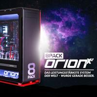 8Pack Orion X2 – Das leistungsstärkste System, das jemals kreiert wurde.