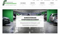 Upgrade: Fuhrparkverband modernisiert Web-Auftritt