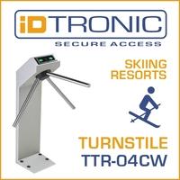 Pressemitteilung der iDTRONIC GmbH | TTR-04CW: Outdoor Dreiarm Drehsperre - Sichern Sie die Zugänge zu Ihrer Ski-Piste und Ihren Ski-Liften