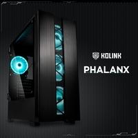 BRANDNEU bei Caseking: Der preiswerte Kolink Phalanx Midi-Tower mit Premium-Features