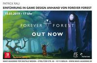 """showimage Einführung in Game Design anhand von """"Forever Forest"""""""