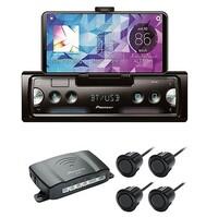 PIONEER SPH-10BT Smartphone-Radio und ND-PS1 Parksensoren