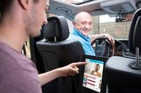 Mastercard belohnt die Zielgrupppe digital im Taxi