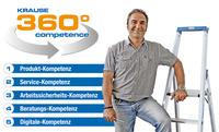 Mehr als Steigtechnik - die KRAUSE 360° competence!
