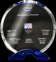 Arvato SCM Solutions erhält den Preferred Quality Supplier Award von Intel