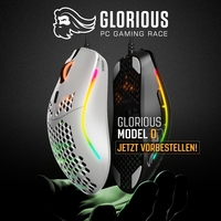NEU bei Caseking – Die Profi-Maus für Marathon-Gamer: Glorious PC Gaming Race Model O