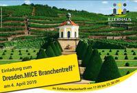 Einladung zum Dresden.MICE Branchentreff am 4.4.2019
