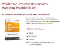 Testleser des PreSales Marketing Praxisleitfaden von Nabenhauer Consulting: sich Schritt für Schritt vom Einsteiger zum Experten entwickeln!