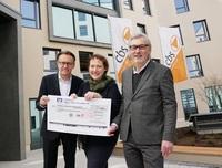 Riesenspende für den Kinderschutzbund: cbs sammelt fast 28.000 Euro