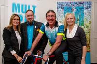 """Sport als Ventil: MS Meet Up mit Radsportler und MS-Patient Andreas """"Besi"""" Beseler vermittelte Lebensfreude"""