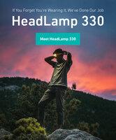 """Erleuchtend - Biolites Stirnlampe """"HeadLamp 330"""" ist ein Hightech-Leichtgewicht"""