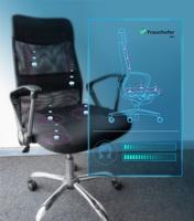 DMEA 2019 - Fraunhofer IGD: Intelligenter Stuhl fördert gesundes Sitzen