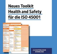 Vergleichen Sie jetzt die neue ISO 45001 mit der OHSAS 18001- Arbeitssicherheit