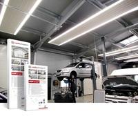 ISH 2019 - Produkt-Innovation: Deckenstrahlheizungen mit LED-Beleuchtung