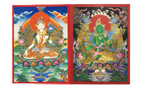 showimage 30% Rabatt auf Thangkas - handgemalte Roll-Gemälde aus Tibet