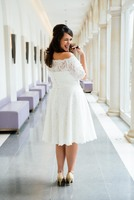 Brautmode: Boho-Style und Vintage-Looks für Curvys