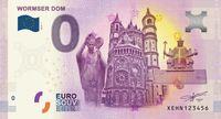 Worms erhält ersten Null Euro Schein