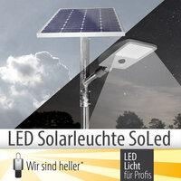 LED Solarleuchte SoLed für Firmengelände, Plätze und Gehwege