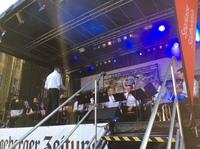 Das Orchester bei der Kieler Woche 2019