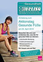Pressemeldung: Michelfeld - Aktionstag Gesunde Füße im Sanitätshaus Erling am 5. April