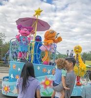 Sesamstraße in SEAWORLD Orlando eröffnet - Elmo, Krümelmonster und co ganz nah