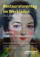 Restauratorentag für Kunst im Werkladen am 25.5.2019