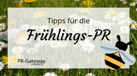 """Frühlings-PR: Machen Sie Ihre Online-PR fit für""""s Frühjahr"""