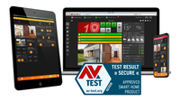 showimage AV-TEST zertifiziert LUPUS-Smarthome-Alarmsystem