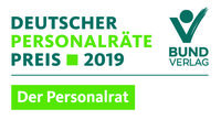 Deutscher Personalräte-Preis 2019