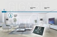 Garantiertes WiFi-Mesh bis zu 1 Gigabit: robuster POF-Backbone mit niedriger Latenz
