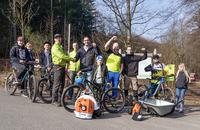 MTB Siegerland mit neuer Ausrüstung nach Diebstahl